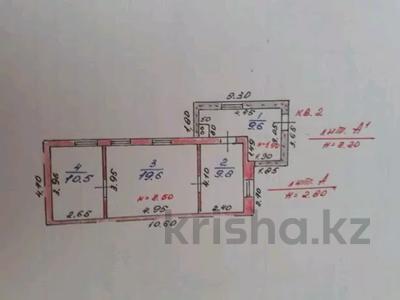 3-комнатный дом, 67 м², 5 сот., Павлодарское 2 — Юбилейная за 6 млн 〒