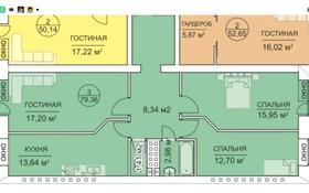 3-комнатная квартира, 80 м², 2/6 этаж, Юбилейный 43 за 22.5 млн 〒 в Костанае