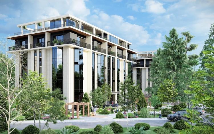 3-комнатная квартира, 154.3 м², Акселеу Сейдембек за ~ 84.9 млн 〒 в Алматы, Наурызбайский р-н