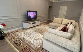 3-комнатная квартира, 100 м², 6/33 этаж помесячно, Аль-Фараби 5к3А за 600 000 〒 в Алматы, Бостандыкский р-н