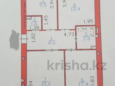 3-комнатная квартира, 77 м², 7/9 этаж, Акмешет 11 — Керей жантбек хандар за 30 млн 〒 в Нур-Султане (Астана), Есильский р-н