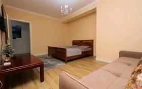 1-комнатная квартира, 45 м², 4/9 этаж посуточно, Абая 130 — Розыбакиева за 13 000 〒 в Алматы