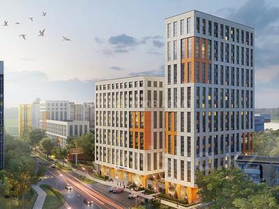 1-комнатная квартира, 43.4 м², 3 этаж, Жанибека Тархана — Бараева за ~ 14.1 млн 〒 в Нур-Султане (Астана), р-н Байконур