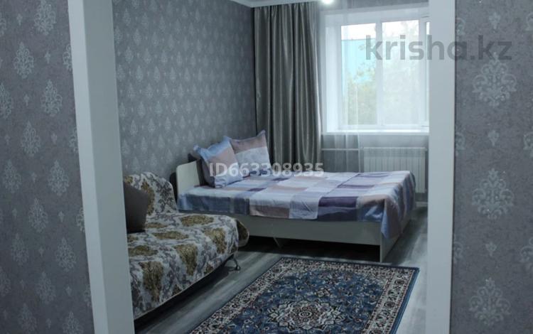1-комнатная квартира, 45 м², 1/5 этаж посуточно, Абылай хан 1/3 за 6 000 〒 в Кокшетау
