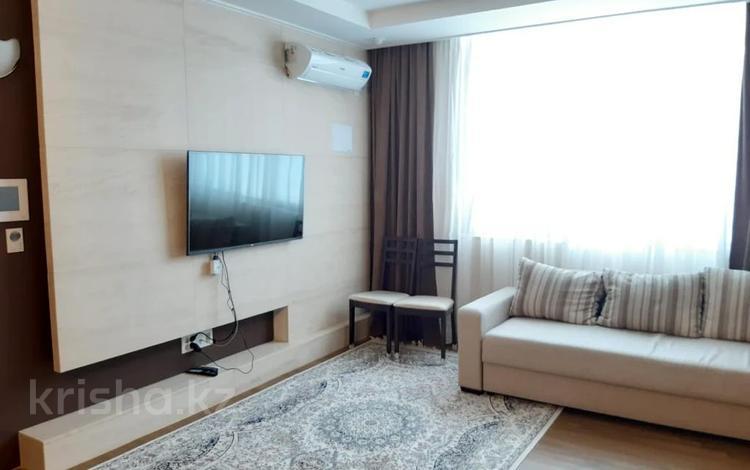 2-комнатная квартира, 75 м², 17/30 этаж помесячно, проспект Рахимжана Кошкарбаева 10/1 за 230 000 〒 в Нур-Султане (Астана)