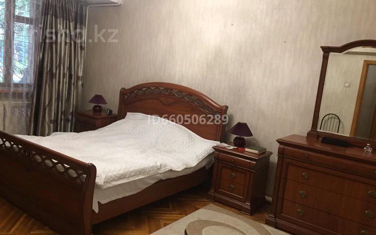 3-комнатная квартира, 90 м², 1/4 этаж помесячно, Бузурбаева 17 за 190 000 〒 в Алматы, Медеуский р-н