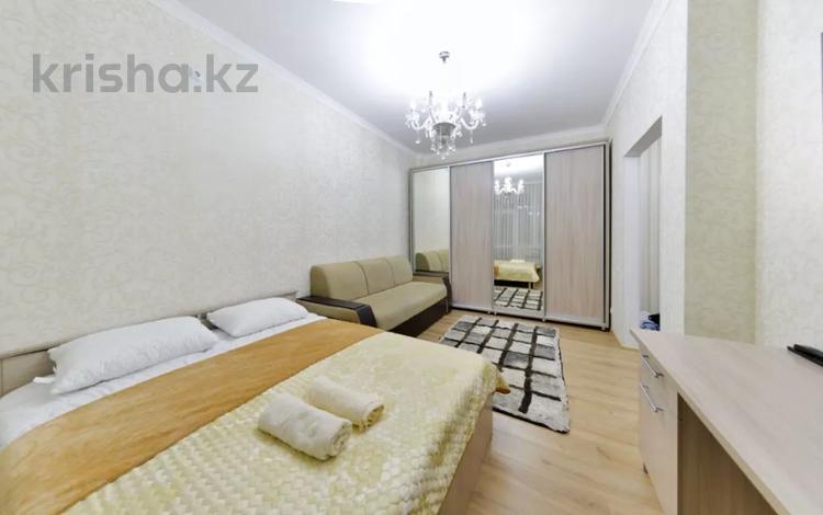1-комнатная квартира, 40 м², 7/8 этаж посуточно, Кабанбай Батыра 58 а — Улы Дала за 10 000 〒 в Нур-Султане (Астане), Есильский р-н