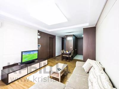 2-комнатная квартира, 75 м², 25/28 этаж посуточно, Кошкарбаева 10/1 за 17 000 〒 в Нур-Султане (Астана), Алматы р-н — фото 3
