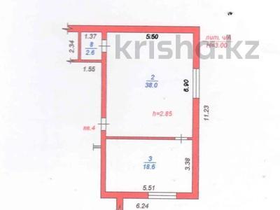 2-комнатная квартира, 59.2 м², 1/2 этаж, мкр Кайрат, Торгын 18 за 12.5 млн 〒 в Алматы, Турксибский р-н — фото 8