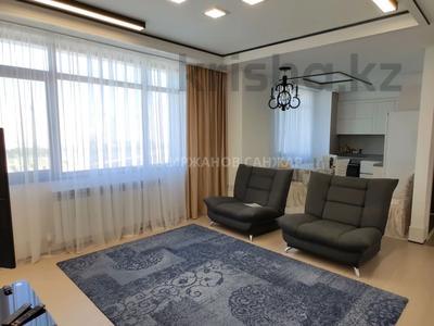 3-комнатная квартира, 85 м², 10 этаж помесячно, Нажимеденова 4 за 250 000 〒 в Нур-Султане (Астана)