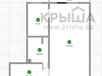 1-комнатная квартира, 33 м², мкр Орбита-1, Габидена Мустафина — Торайгырова за 14 млн 〒 в Алматы, Бостандыкский р-н — фото 11