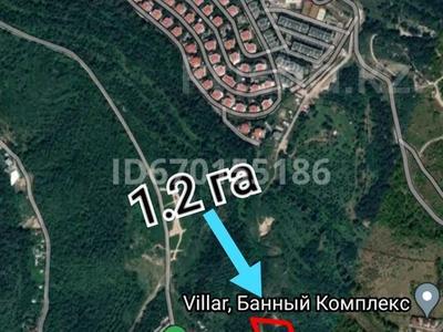 Участок 1.2 га, мкр Горный Гигант за 230 млн 〒 в Алматы, Медеуский р-н