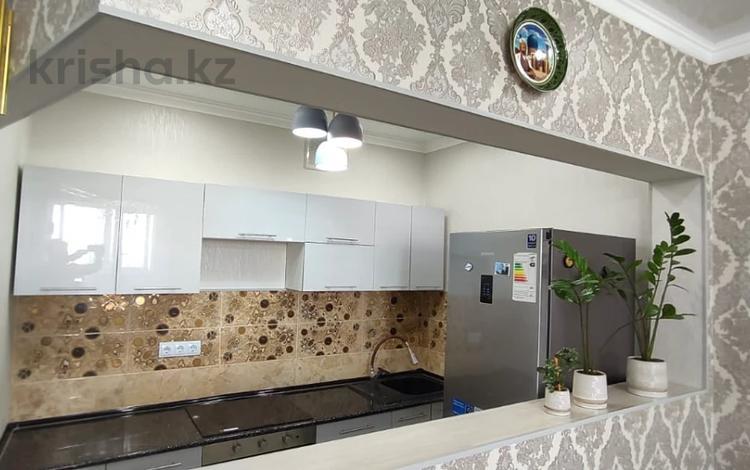 2-комнатная квартира, 77 м², 18/18 этаж, Брусиловского за 28.2 млн 〒 в Алматы, Алмалинский р-н