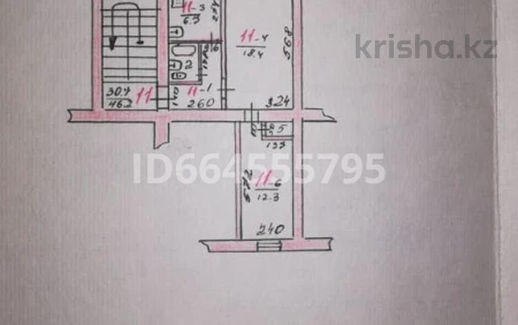 2-комнатная квартира, 47 м², 2/3 этаж, Село Алмалыбак, Бабаева 5 за 11 млн 〒 в