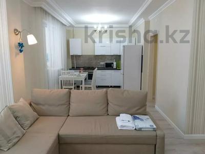 1-комнатная квартира, 50 м², 2/9 этаж посуточно, Сатпаева 2 Г за 10 000 〒 в Атырау — фото 4